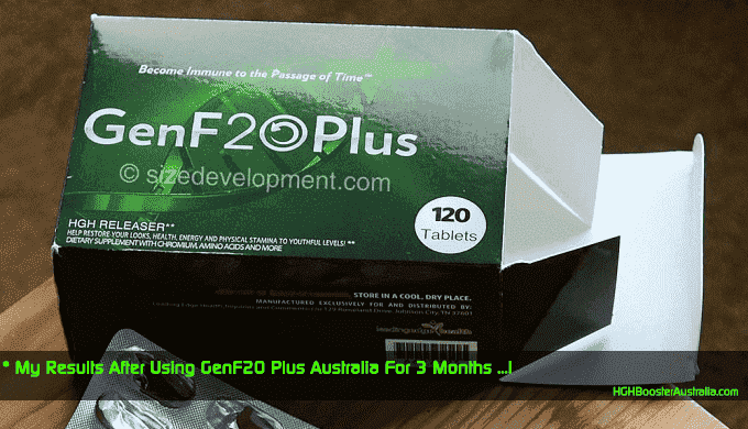 my results after using genf20 plus for 3 month